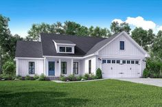 Exclusive 3-Bed Farmhouse with Tremendous Curb Appeal - 51763HZ | Architectural Designs - House Plans