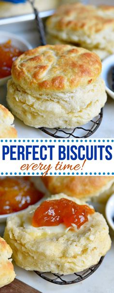 The BEST Homemade Biscuit recipe you'll ever try! These easy, homemade biscuits … The BEST Homemade Biscuit recipe you'll ever try! These easy, homemade biscuits are soft, flaky, made completely from scratch and can. Biscuit Bread, Breakfast Biscuits, Breakfast Casserole, Homemade Biscuits Recipe, Recipes With Biscuits, Easy Homemade Bread, Bisquick Recipes Biscuits, Homemade Biscuit Mix, Skinny Recipes