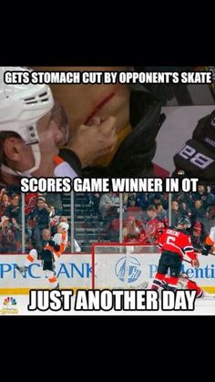 that, my friend, is why hockey is better than any other sport than you do!And that, my friend, is why hockey is better than any other sport than you do! Flyers Hockey, Blackhawks Hockey, Hockey Teams, Hockey Players, Chicago Blackhawks, Hockey Stuff, Rangers Hockey, Funny Hockey Memes, Hockey Quotes