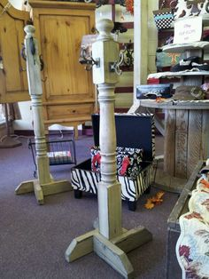 Stocking hangers for those without mantles. Or scarfs.... jewelry... Possibilites are endless!
