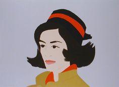 Alex Katz - Ada In Hat