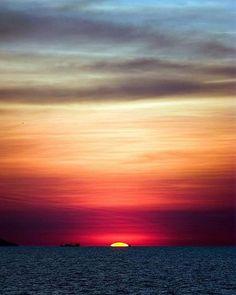Sonnenuntergang. Landschaft Erde Natur
