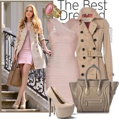 """pink bandage"" by chiclover16 ❤ liked on Polyvore"