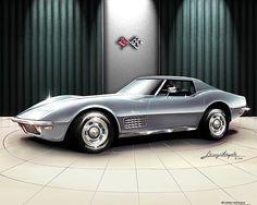 Visit The MACHINE Shop Café... ❤ Best of Corvette @ MACHINE ❤ (1970 Chevrolet Corvette Stingray)