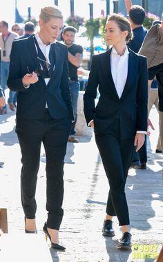 Cate Blanchett & Emily Blunt