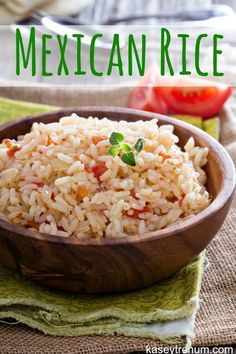 Easy Mexican Rice {H