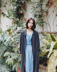 by matsuki kousuke Fashion Photo, Fashion Beauty, Korea Fashion, Casual Outfits, Fashion Outfits, Womens Fashion, Forest Girl, Girl Short Hair, Mori Girl