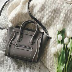 @truelane grey nano luggage #Céline. My dream bag. Seriously. It's just perfection.