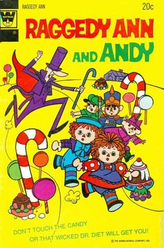 Raggedy Ann and Andy #6 Whitman