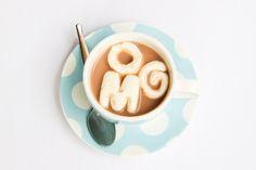 Vanilla Bean Alphabet Marshmallows (what a cute idea! I really need some mini alphabet cutters)