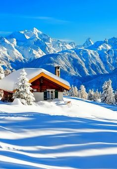 The Most Beautiful Places in Yosemite National Park Winter Szenen, Winter Cabin, Winter Light, Snow Cabin, Beautiful World, Beautiful Places, Beautiful Pictures, Winter Wonderland Wallpaper, Landscape Photography