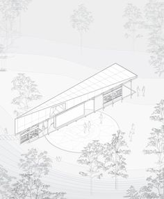 Gallery of Stage Pavilion / Stage Dnipro Community - 19 System Architecture, Architecture Graphics, Architecture Visualization, Architecture Drawings, Architecture Details, Landscape Architecture, Architecture Diagrams, Chinese Architecture, Architecture Office