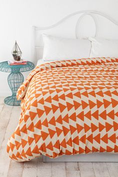 Magical Thinking Triangle Chain Duvet Cover  I love this one.