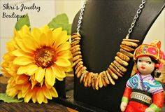 Yellow oblong bead  Code : N10 Price : 100 KR Note : 2 set available