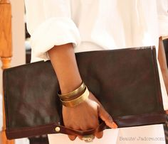 DIY Oversized Convertible Clutch from Beaute' J'adore Step by Step instructions