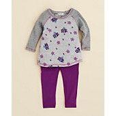 Splendid Infant Girls' Floral Tunic & Legging Set - Sizes 3-24 Months