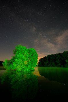 Lake Orange Milky Way, Orange County, Virginia, by Alexander Heavner, on Flickr.