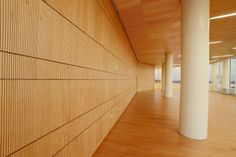 WoodTrends Acoustical Wall Panels in Hunt Library http://www.acousticalsolutions.com/73~woodtrends-wall-panels