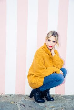 She totally has the whole West Coast Rodeo-Drive-meets-Hypebeast thing nailed. http://www.thecoveteur.com/ashley-benson/