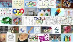 Olympics posters collage