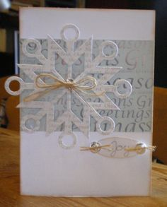 """craftwork cards"" twinkle paper, snowflake - Google Search"