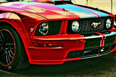 HDR Mustang by Fietolini on deviantART