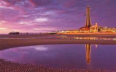 Blackpool Illuminations: lighting up a magical night Blackpool England, Big Ride, Irish Sea, Photography Challenge, Thailand Travel, Light Up, Britain, Travel Destinations, Places To Go