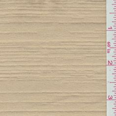 Golden Beige Jersey Knit - Fabric By The Yard At Discount Prices