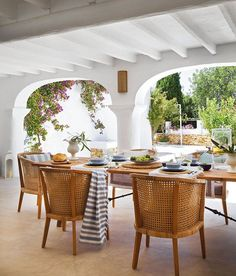cute porch in Ibiza