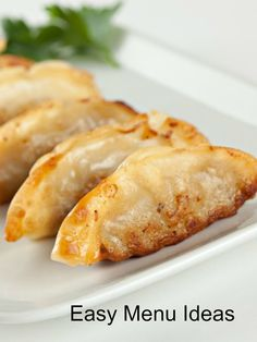 It is a custom to eat Kreplach on Erev Yom Kippur, but you can also try Mushroom Potstickers