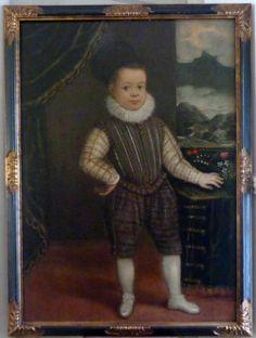 Portrait of Young Boy c.1620: Italian School.   #TuscanyAgriturismoGiratola
