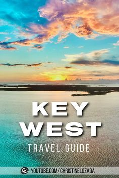The MUST-DO things in Key West, Florida! Super HELPFUL tips on what to do, where to eat, where to stay and MORE! The Florida Keys is the perfect place for a beach vacation. If you're wondering what it's like so you can plan your own trip, this video will help you with things to consider. via @christinelozada | #Florida #FloridaTravel #KeyWest #FloridaKeys #KeyWestFloridaBeach #BeachTravel #Beach #BeachVacation Usa Travel Guide, Travel Vlog, Travel And Tourism, Travel Usa, Travel Guides, Florida Travel, Beach Travel, Beach Trip, West Florida