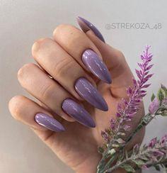 Violet Nails, Beauty, Purple Nails, Beauty Illustration, Purple Nail