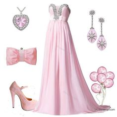 Light pink flowy dress outfit