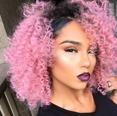 Pink Human Hair Extensions/Weaves