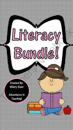 Literacy Bundle from Hillary3986 on TeachersNotebook.com -  (40 pages)  - Literacy Bundle