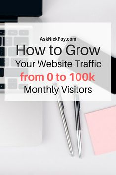 Learn the steps to take if you want to increase your website traffic and grow your online business. I share over 10+ tips to help you grow your blog traffic using free traffic sources. Click to watch today's video lesson and be sure to subscribe.