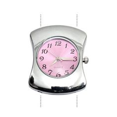 What time is it? In pink!