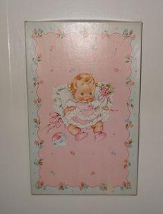 VIntage Baby Dress Box by CraftsFromScratch on Etsy, $5.95