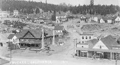 California History - Nevada County - Truckee.  Pinned by www.CaliforniasHarvest.com