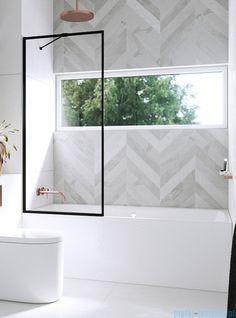 Bathroom Renos, Laundry In Bathroom, Bathroom Renovations, Master Bathroom, White Bathroom, Bathroom Layout, Modern Bathroom Design, Bathroom Interior Design, Upstairs Bathrooms
