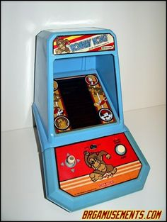 I thought I was so cool, with my Donkey Kong arcade game.