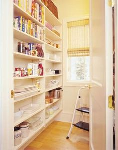 Kitchen pantry storage on pinterest kitchen pantry - Pantry solutions for small spaces collection ...