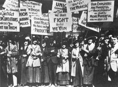 Amalgamated Clothing Workers Strike, 1915 | 12 Powerful Images Of Women In The Labor Movement