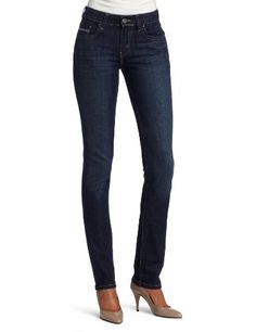 Levi's Women's Mid Rise Skinny Jean, Night Storm, 8 Medium