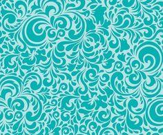 """Riley Blake BW-Stoff/Quilt """"summerbreeze"""" türkis von Wolke 7 auf DaWanda.com"""