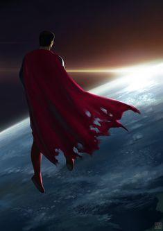 Legendary | News | Fan Art Friday: Man of Steel