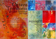 Flyer - Muestra Octavo Territorio 4to Viaje Museo de Arte Fueguino