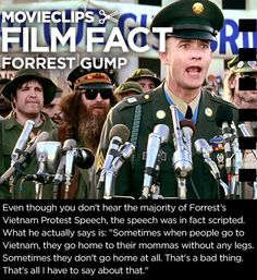 The Unheard Message Of Forrest Gump
