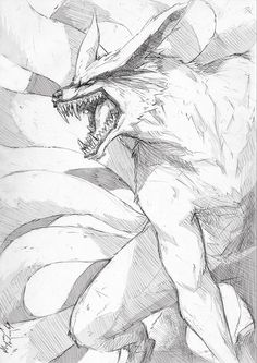 #Kurama :Fierce: by Abz-J-Harding on deviantART